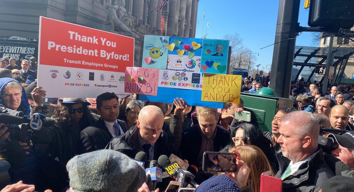 """Train Daddy Has Left The Building:"" NYC Says Goodbye To Andy Byford On His Last Day"