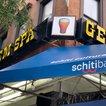 The schitibank signage