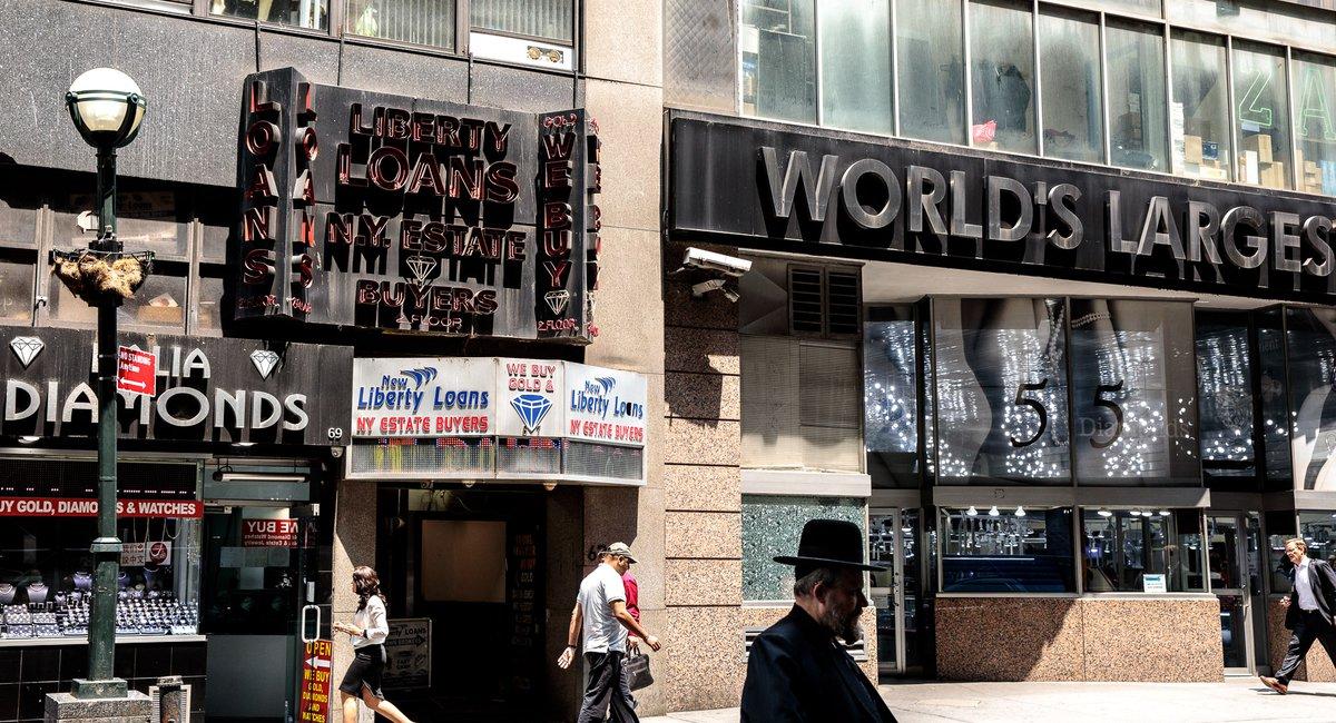 The Diamond District: 'One Of The Last New York Blocks Left In Manhattan'