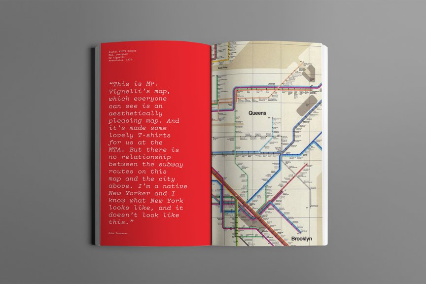 """An excerpt from """"The New York Subway Map Debate"""""""