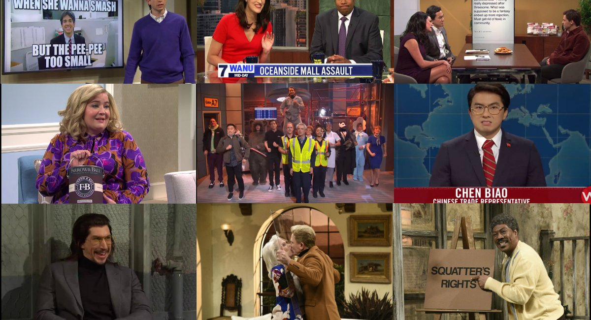 The Best Live Sketches Of SNL Season 45