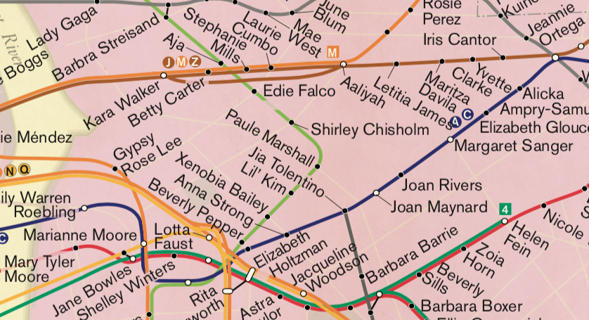 'City Of Women' Subway Map Gets A 2019 Update