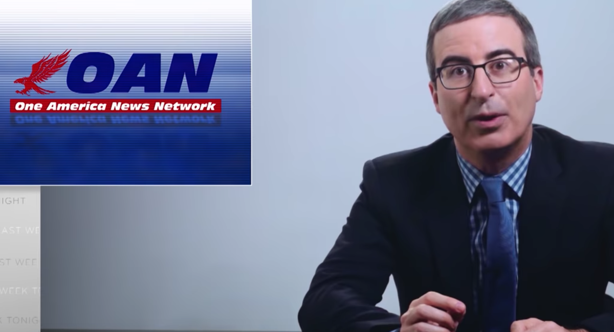 Video: John Oliver Examines How OAN Spreads Dangerous Pandemic Misinformation