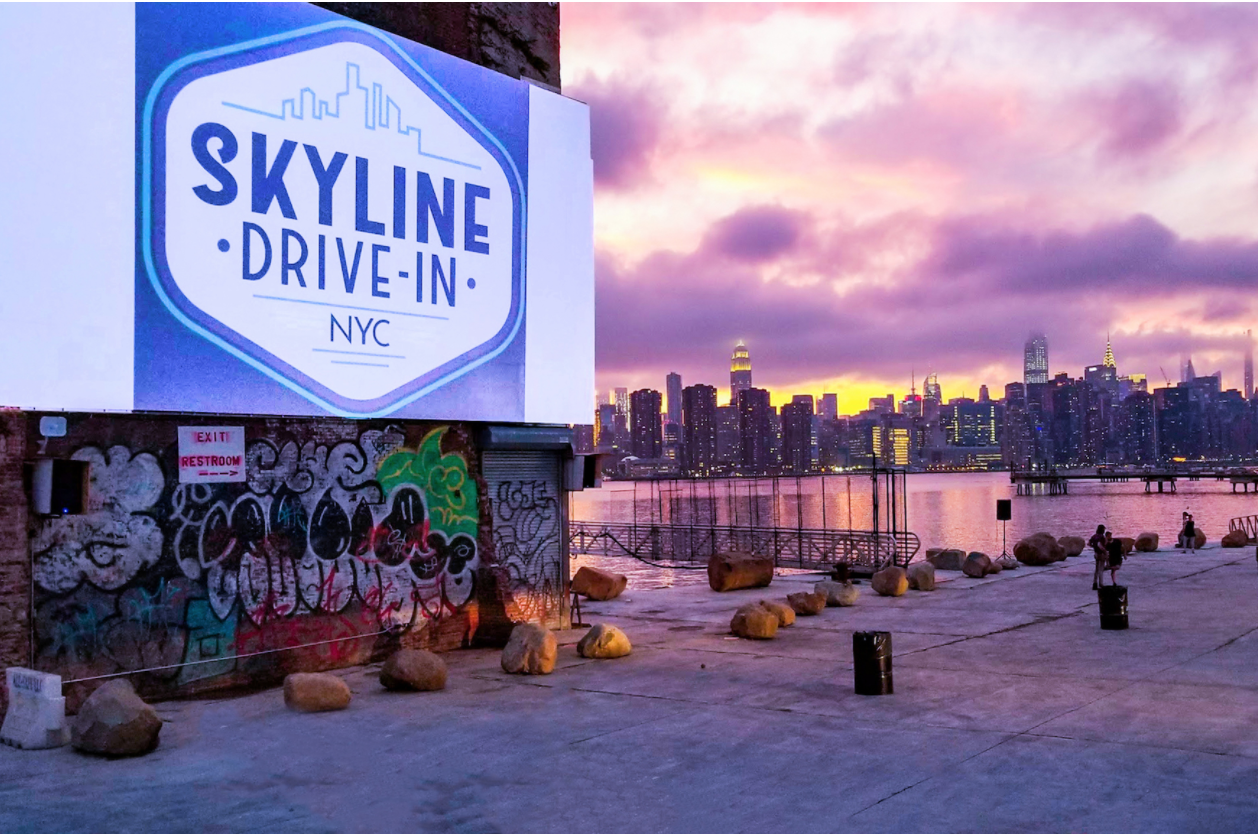 A New Drive In Movie Theater Has Opened In Greenpoint Gothamist