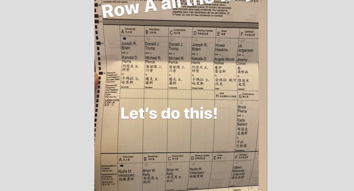 Cuomo's Top Aide Posted An Illegal Ballot Selfie, But Is That All This Is?