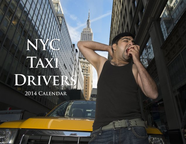 Photos: NYC Cabbies Look Hot As Hail In Last Ever Sexy Taxi Calendar