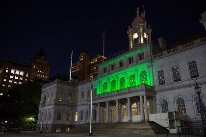 City Hall on June 1, 2017 (NYC Mayor's Office)