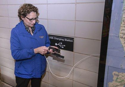 Charging up (Patrick Cashin / MTA)