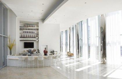 The lobby bar<br/>