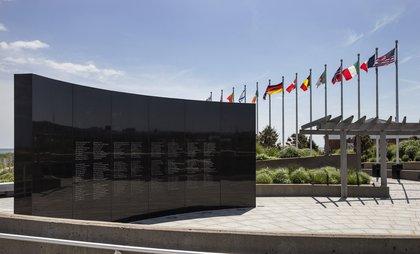 TWA Flight 800 International Memorial at Smith Point Beach<br/>