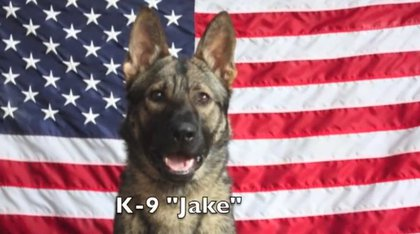 """Jake"" named in memory of Specialist Jacob Fletcher of the U.S. Army Company C, 2nd Battalion Airborne, 503rd Infantry Regiment, 173rd Airborne Brigade, Camp Ederle, Italy"