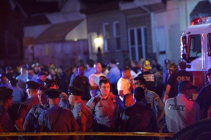 First responders wait (Getty Images)