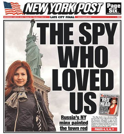 The NY Post's cover today