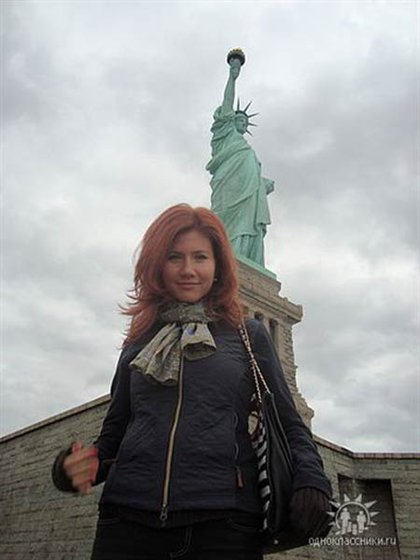 From Anna Chapman's Facebook page.