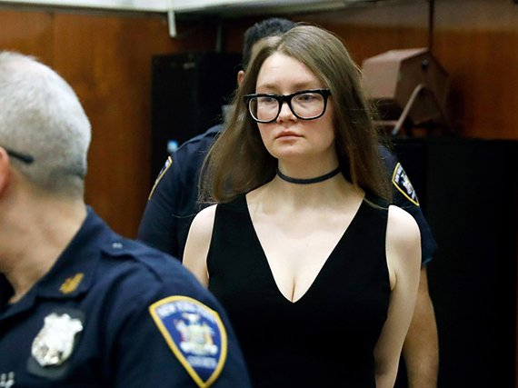 Anna Sorokin in court on March 27, 2019