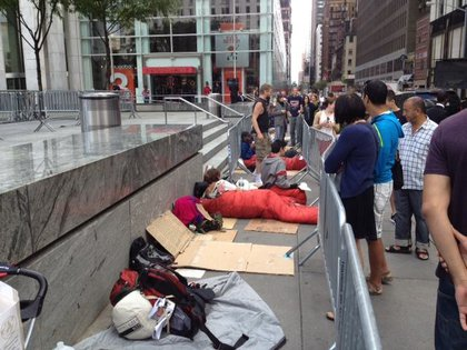 The Occupied Apple iPhone 5 line