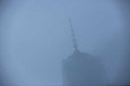 Cloudy morning at the WTC