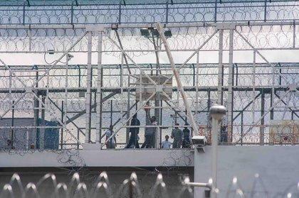 Vernon C. Bain Correctional Center, the Bronx.<br/>