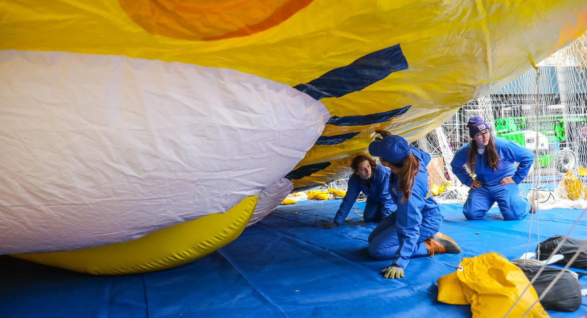 Photos: Thanksgiving Day Balloon Inflation Proceeds As If ...