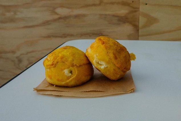 Pineapple Buns, at Milu ($4 each)