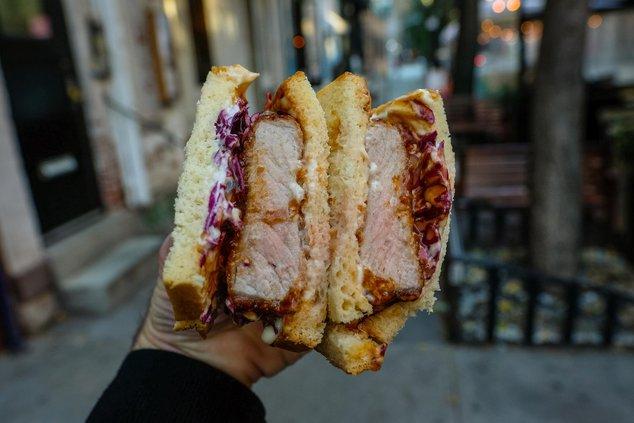 Pork Katsu Sandwich, at MR All Day ($16)