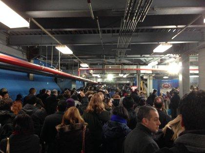 "Inside WTC PATH station (via Jeff, author of <a href=""http://therewardboss.com"">The Reward Boss</a>)"