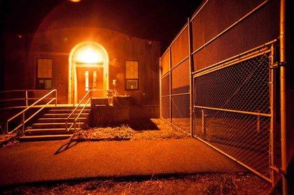A maximum security juvenile prison, since abandoned.<br/>