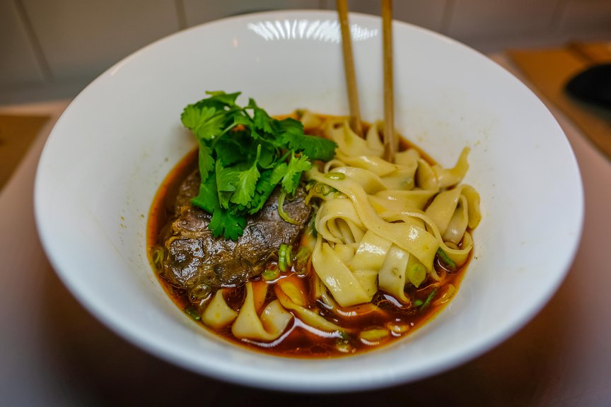 Ho Foods: Beef Noodle Soup ($ 15.50)