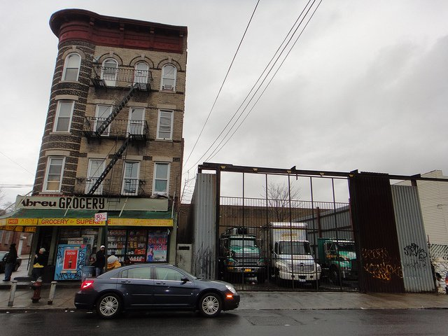 A bodega in Brownsville/East New York.