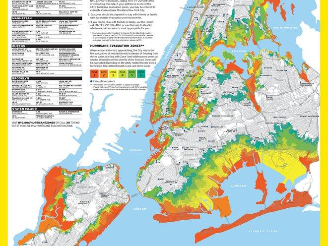 Map: NYC Has New Hurricane Evacuation Zones - Gothamist