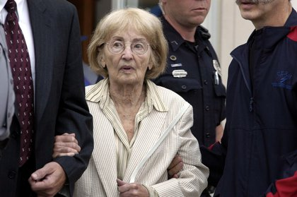Goodman's mother at the 2005 trial of Edgar Ray Killen<br/>