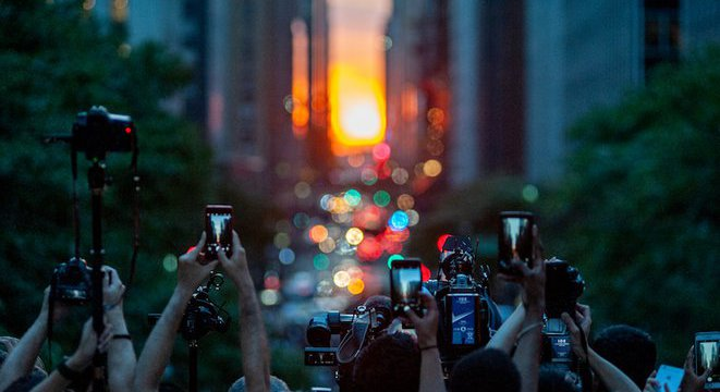 Here Are Your 2020 Manhattanhenge Dates