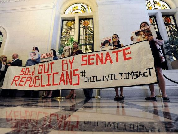 Advocates from across the state have repeatedly traveled to Albany to urge passage of the Child Victims Act