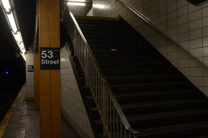 The station in September 2016 (Marc A. Hermann / MTA)
