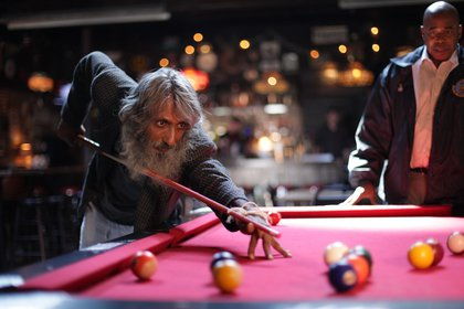 Rafiq Ali Ladhani plays Adams in a game of pool at The Gutter