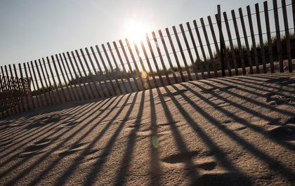 Smith Point Beach, near the TWA 800 International Memorial<br/>