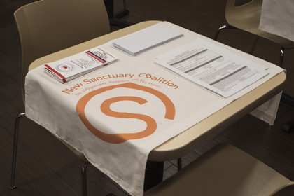 """Garrett Benisch's """"Fast Food Table Cloth"""" which would allow diners to identify themselves<br>"""
