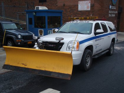 Many MTA vehicles will be equipped with plows!<br/>