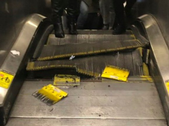The Machinery Crunched & Collapsed On Itself': Busted Subway