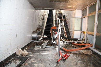 In the station in November 2012  (MTA Photos)