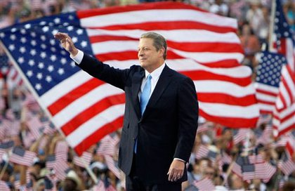 Former vice-president and Nobel Peace Prize laureate Al Gore.