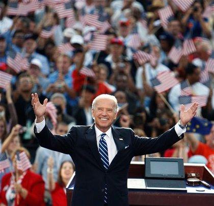 Vice presidential candidate Joseph Biden
