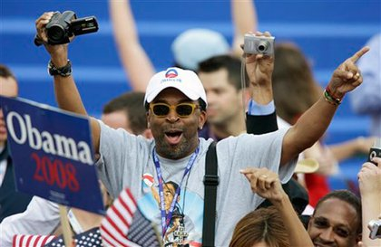 Spike Lee gets into the spirit.