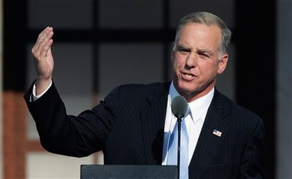 Democratic National Committee chairman and one-time presidential candidate Howard Dean