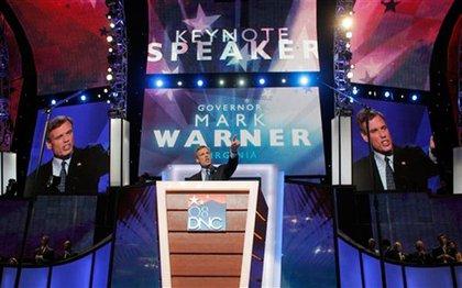 Former Governor of Virginia Mark Warner delivered the keynote (full transcript here).