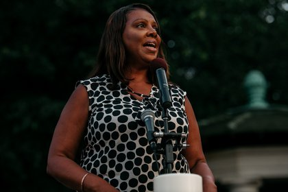 Attorney General Letitia James<br>