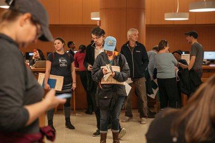Brooklyn Public Library<br/>(Scott Heins / Gothamist)