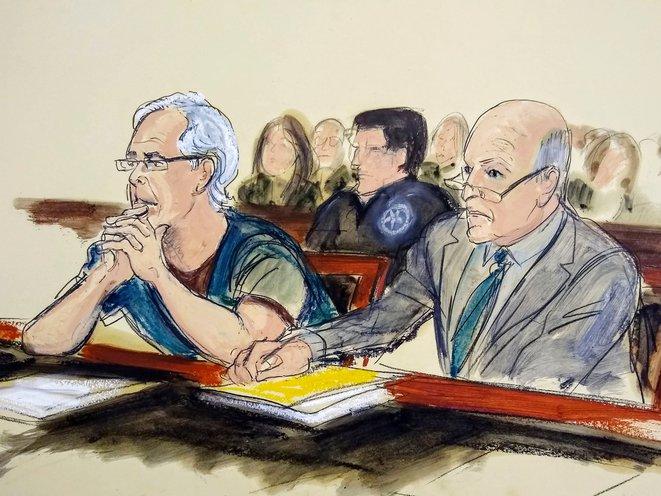 A federal judge denied accused sex trafficker Jeffrey Epstein's bail request.