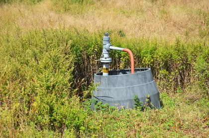 Gas well at Freshkills Park<br/>