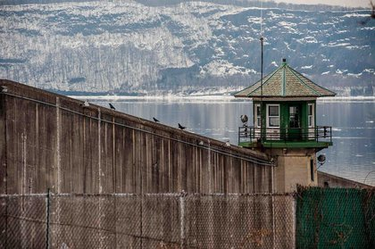 Sing Sing Correctional Facility, Ossining NY.<br/>
